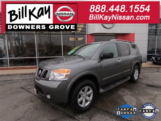 Certified Pre-Owned 2015 Nissan Armada SV
