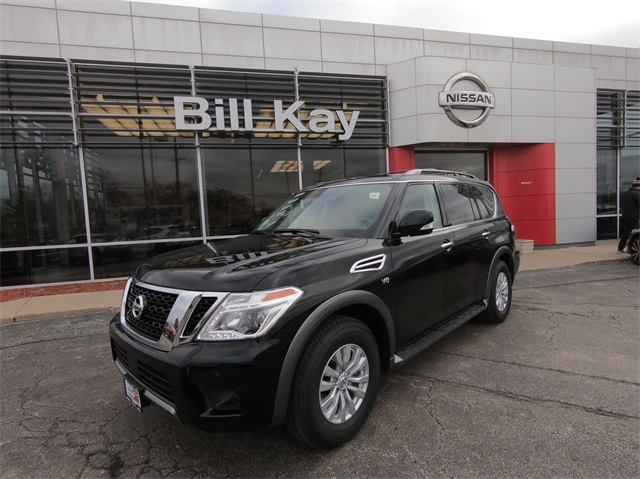 New 2019 Nissan Armada Sv 4d Sport Utility In Downers Grove 1945001