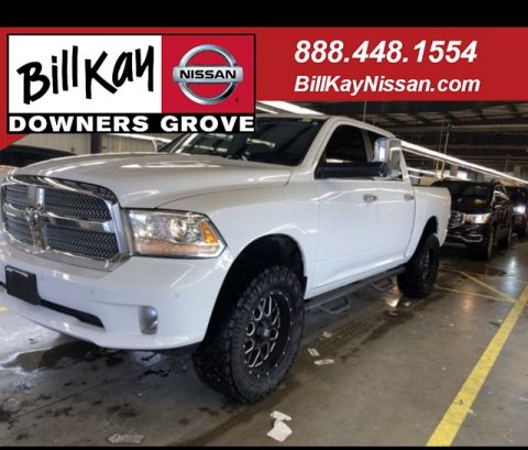 Pre-Owned 2014 Ram 1500 Laramie Longhorn With Navigation & 4WD
