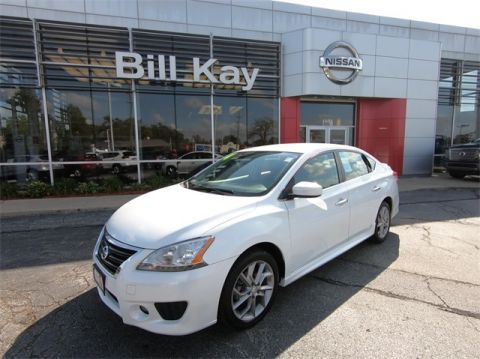 Certified Pre-Owned 2014 Nissan Sentra SR