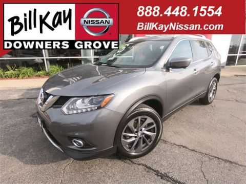 Certified Pre-Owned 2016 Nissan Rogue SL With Navigation & AWD