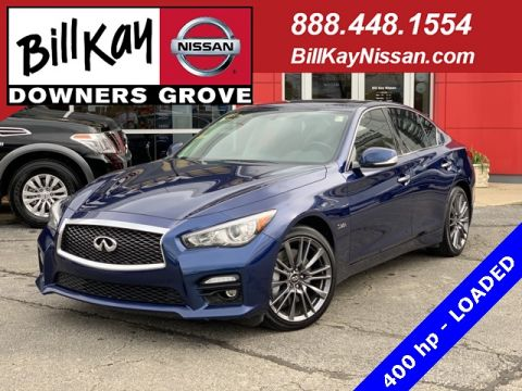 Pre-Owned 2016 INFINITI Q50 Red Sport 400 With Navigation & AWD